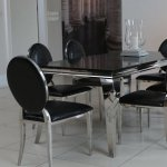 Nero Lucido dinette - the shiny black