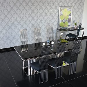 Table set Nero Pieno di Luce - Black Full of Glamor