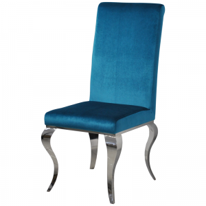 Chair glamor Premier Dark Blue - modern chair upholstered